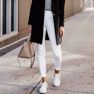 American Eagle White Jeggings Next Level S…